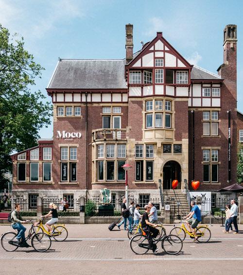 כרטיסים למוזיאון מוקו - מוזיאון אומנות באמסטרדם
