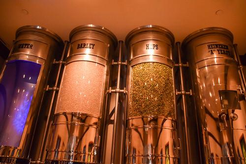 אטרקציות באמסטרדם תהליך בישול הבירה מוזיאון הייניקין