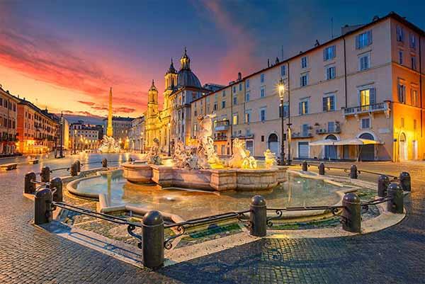 פיאצה נאבונה הכיכר הכי יפה ומרהיבה ברומא