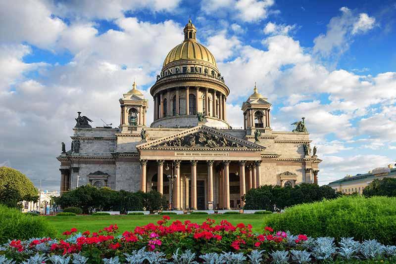 מבין הקתדרלות הכי יפות ברוסיה,קתדרלת איסק הקדוש