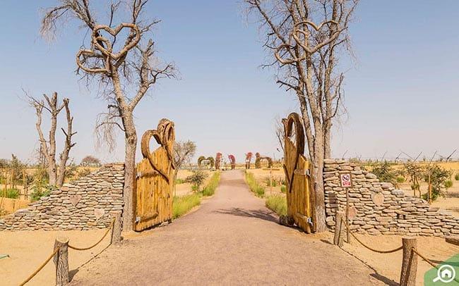 אגם לב דובאי כניסה