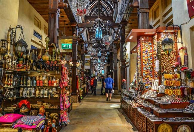 שווקים מסורתיים בדובאי